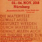 Postkarte Linke Literaturmesse Nürnberg