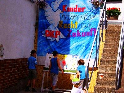 Foto: Kinderfest der DKP Weibersbrunn